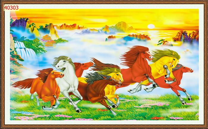 Tranh Ngựa | Tranh Mã Đáo Thành Công - 40303
