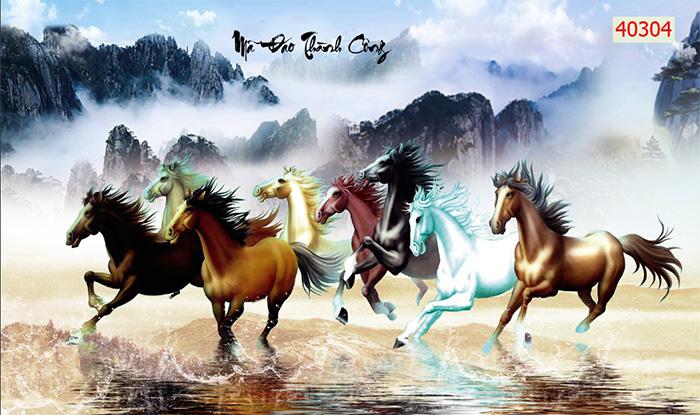 Tranh Ngựa | Tranh Mã Đáo Thành Công - 40304