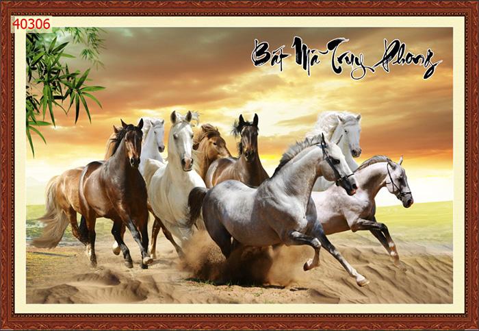 Tranh Ngựa | Tranh Mã Đáo Thành Công - 40306