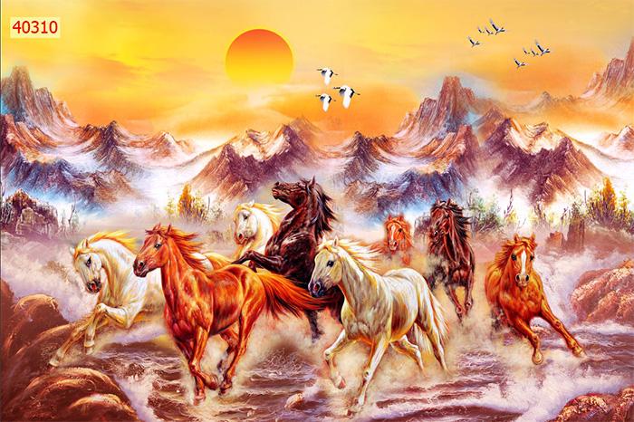 Tranh Ngựa | Tranh Mã Đáo Thành Công - 40310