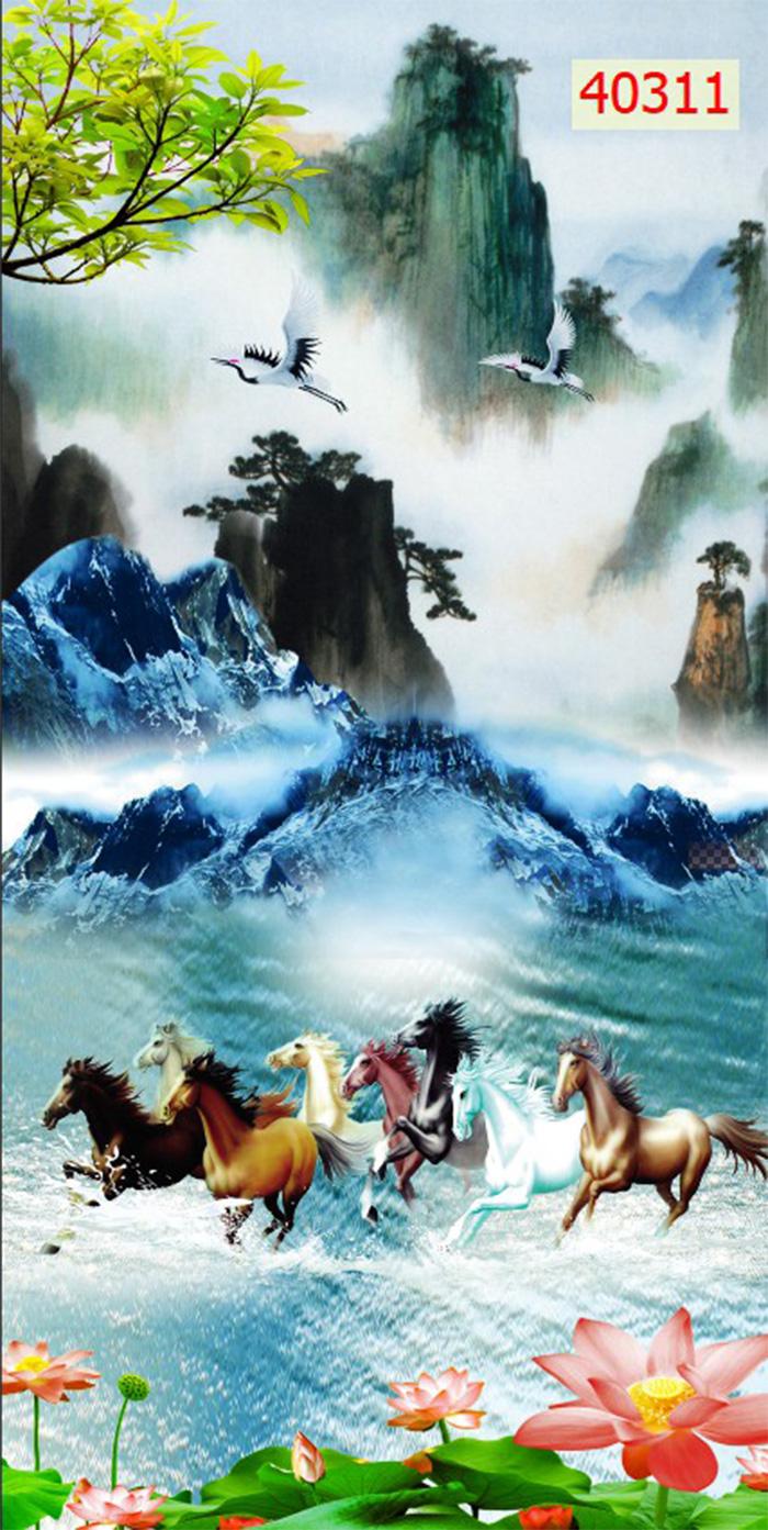 Tranh Ngựa | Tranh Mã Đáo Thành Công - 40311