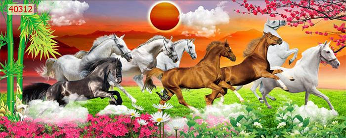 Tranh Ngựa | Tranh Mã Đáo Thành Công - 40312