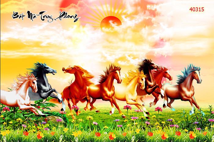 Tranh Ngựa | Tranh Mã Đáo Thành Công - 40315