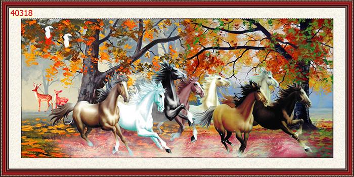 Tranh Ngựa | Tranh Mã Đáo Thành Công - 40318