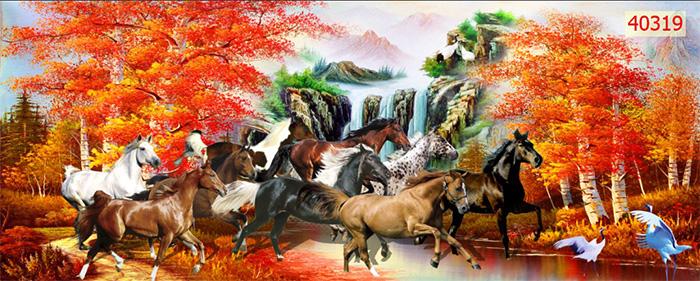 Tranh Ngựa | Tranh Mã Đáo Thành Công - 40319