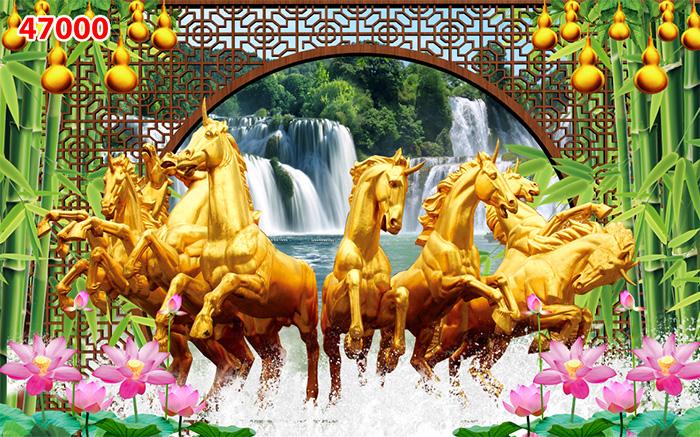 Tranh Ngựa | Tranh Mã Đáo Thành Công - 470001