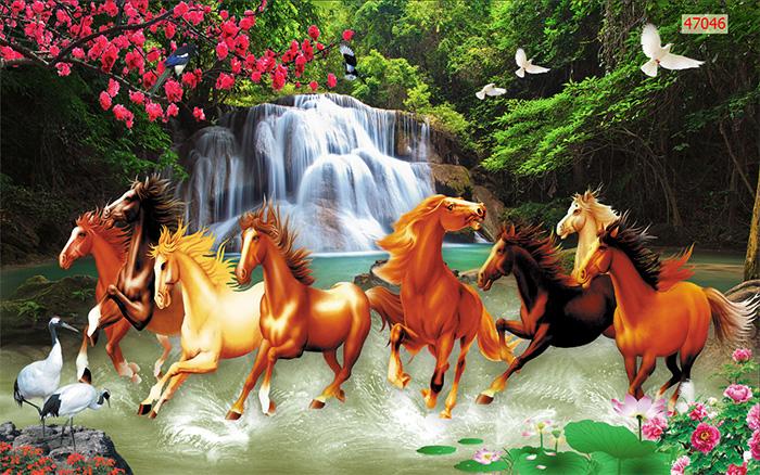Tranh Ngựa | Tranh Mã Đáo Thành Công - 47046