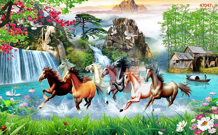 Tranh Ngựa | Tranh Mã Đáo Thành Công - 470471