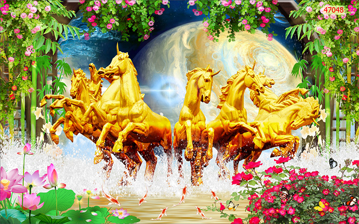 Tranh Ngựa | Tranh Mã Đáo Thành Công - 470481