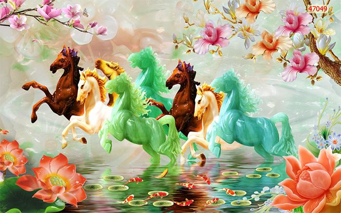 Tranh Ngựa | Tranh Mã Đáo Thành Công - 47049
