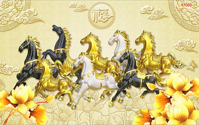 Tranh Ngựa | Tranh Mã Đáo Thành Công - 470501