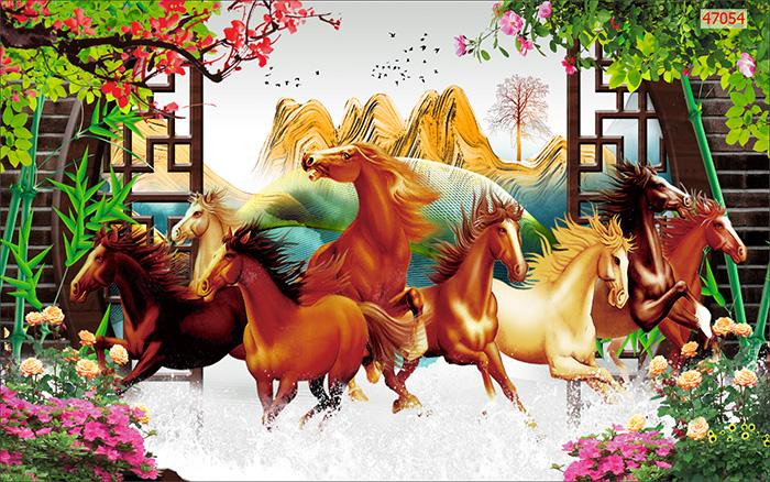Tranh Ngựa | Tranh Mã Đáo Thành Công - 47054