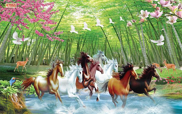 Tranh Ngựa | Tranh Mã Đáo Thành Công - 470551