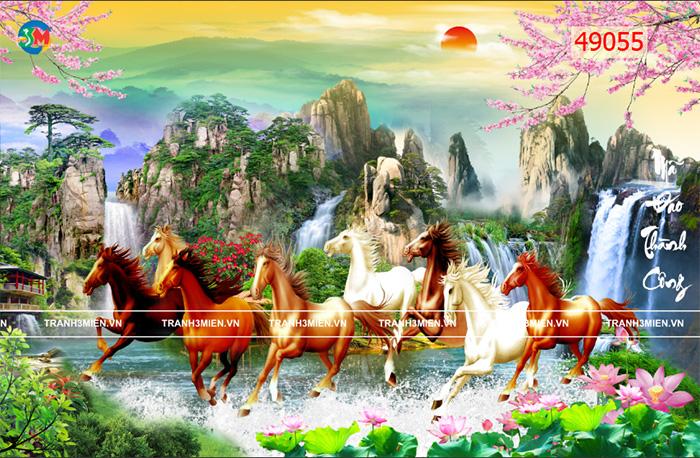 Tranh Ngựa | Tranh Mã Đáo Thành Công - 49055