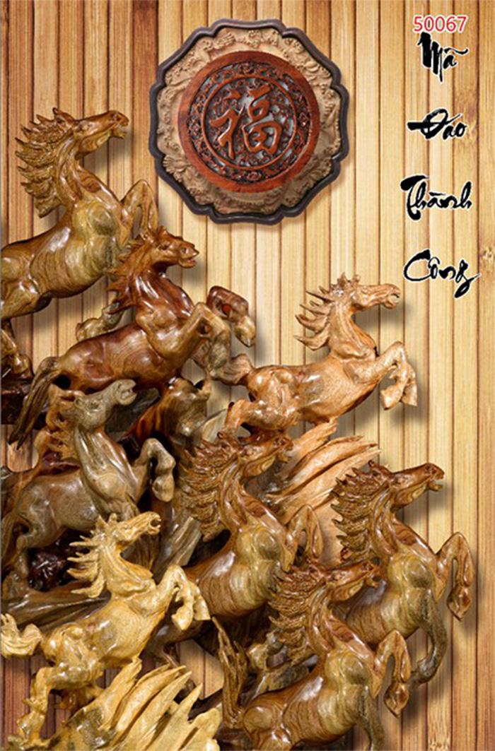 Tranh Ngựa | Tranh Mã Đáo Thành Công - 50067