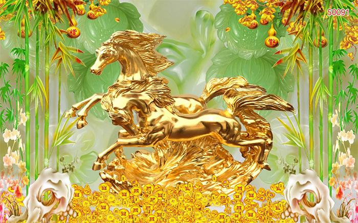 Tranh Ngựa | Tranh Mã Đáo Thành Công - 50091