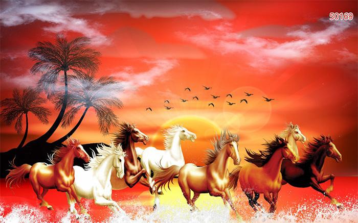 Tranh Ngựa | Tranh Mã Đáo Thành Công - 50169
