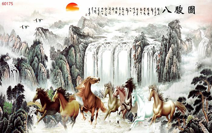 Tranh Ngựa | Tranh Mã Đáo Thành Công - 60175