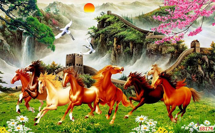 Tranh Ngựa | Tranh Mã Đáo Thành Công - 68174