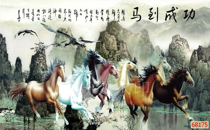 Tranh Ngựa | Tranh Mã Đáo Thành Công - 68175