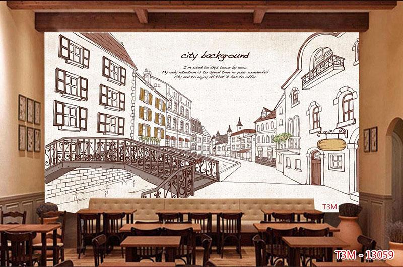 Tranh Quán Cafe Bar - CB11910