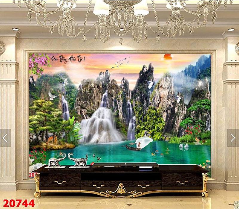Tranh Sơn Thủy - ST691
